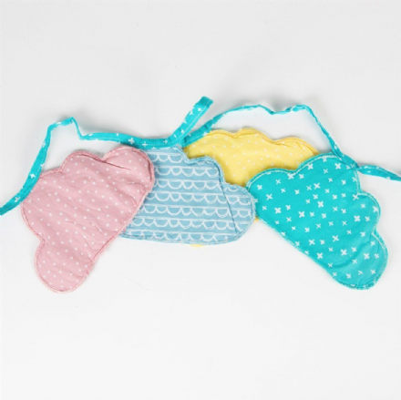 50% OFF Pastel Cloud Shaped Bunting
